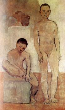 Pablo Picasso : two youths II