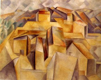 Pablo Picasso : houses on the hill