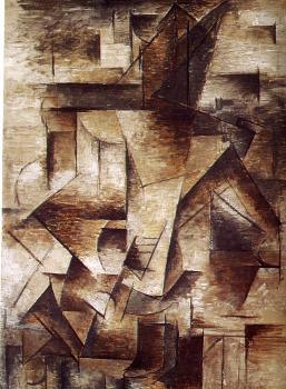 Pablo Picasso : the guitarist