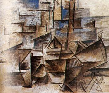 Pablo Picasso : the port of cadaques