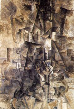 Pablo Picasso : the accordionist