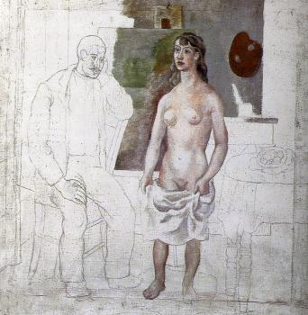 Pablo Picasso : the painter and his model
