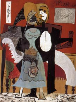 Pablo Picasso : the lovers
