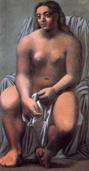 Pablo Picasso : large bather