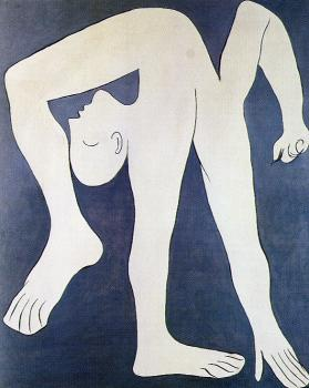 Pablo Picasso : the acrobat