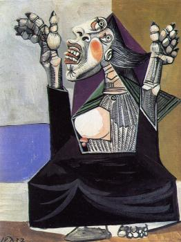 Pablo Picasso : la suppliante