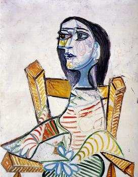 Pablo Picasso : seated woman III