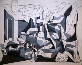 Pablo Picasso : the charnel house