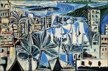 Pablo Picasso : the bay of cannes