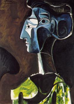 Pablo Picasso : large profile
