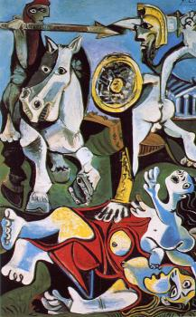 Pablo Picasso : the abduction of the sabine women II