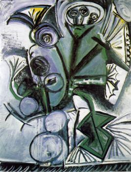 Pablo Picasso : bouquest of flowers