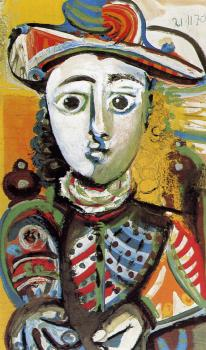 Pablo Picasso : seated girl