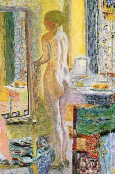 Pierre Bonnard : Nude Before a Mirror