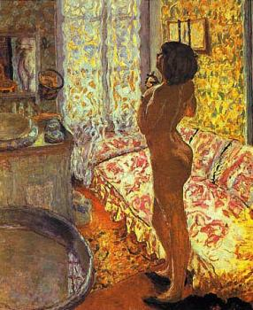 Pierre Bonnard : Model in Backligh