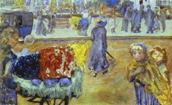 Pierre Bonnard : Evening in Paris