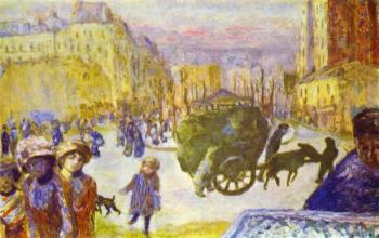 Pierre Bonnard : Morning in Paris