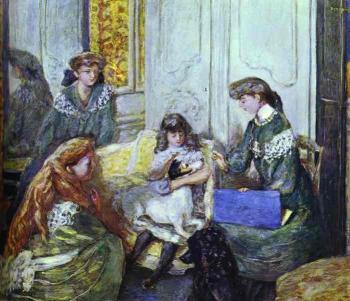 Pierre Bonnard : Natanson Girls