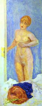 Pierre Bonnard : Nude and Fur Hat