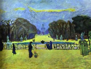 Pierre Bonnard : Gardens of Tuileries