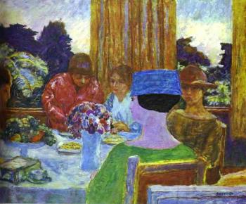 Pierre Bonnard : The Tea