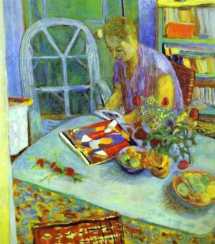 Pierre Bonnard : A Woman in a Room