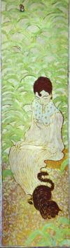 Pierre Bonnard : Sitting Woman with a Cat