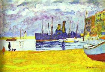 Pierre Bonnard : The Port of Cannes
