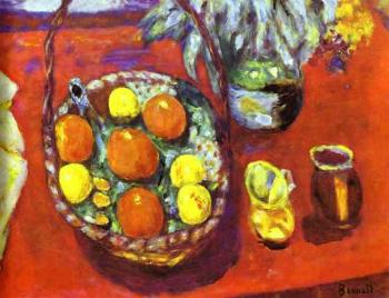 Pierre Bonnard : Fruit Basket