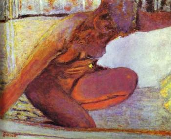 Pierre Bonnard : Nude in the Bathtub