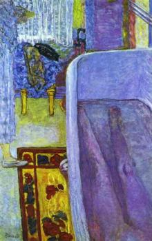 Pierre Bonnard : Nude in the Bathtub II