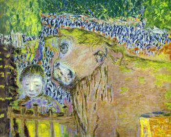 Pierre Bonnard : Bull and Child