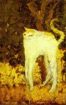 Pierre Bonnard : The White Cat