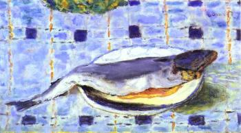 Pierre Bonnard : Fish in a Dish