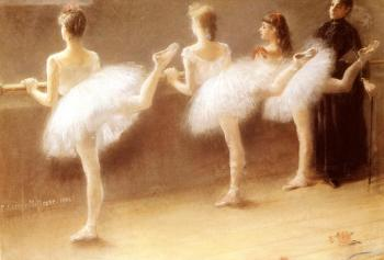 Pierre Carrier-Belleuse : At The Barre