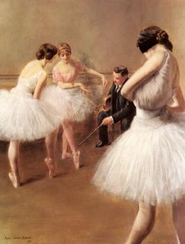 Pierre Carrier-Belleuse : The Ballet Lesson