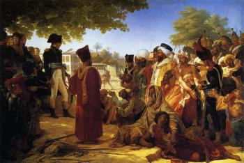 Pierre-Narcisse Guerin : Napolean Pardoning the Rebels at Cairo