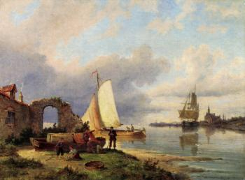 Pieter Christian Dommerson : On The Spaarne Haarlem