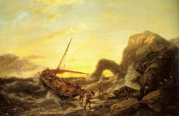 Pieter Christian Dommerson : The Shipwreck