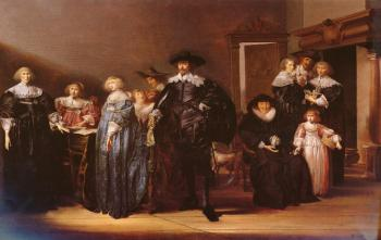Pieter Codde : A Portrait Of THe Family Twent