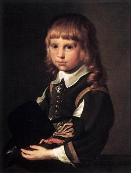 Pieter Codde : Portrait Of A Child
