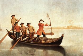 Pietro Longhi : Duck Hunters on the Lagoon