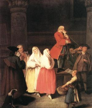 Pietro Longhi : The Soothsayer