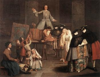 Pietro Longhi : The Tooth Puller