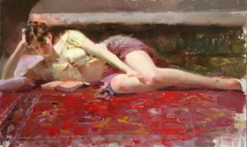 Pino Daeni canvas painting