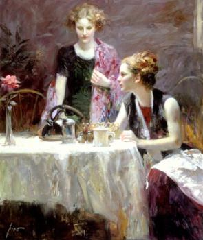 Pino Daeni : After Dinner