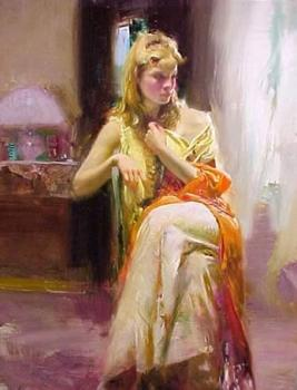 Pino Daeni canvas painting III