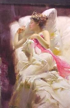 Pino Daeni : A Touch of Color