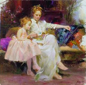 Pino Daeni : Education of a Lady