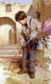 Pino Daeni : Lines in the Sand